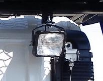 作業灯:1個の画像
