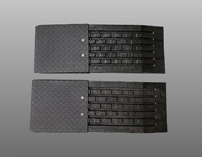 プラスチック補助板(2個) ケース付の画像